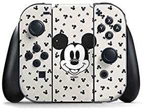 Skinit Decal Gaming Skin Compatible with Nintendo Switch Joy Con Controller - Officially Licensed Disney Classic Mickey Mo...