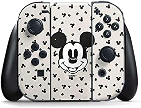 Skinit Decal Gaming Skin for Nintendo Switch Joy Con Controller - Officially Licensed Disney Classic Mickey Mouse Design