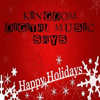 Kingdom Digital Music Says Happy Holidays