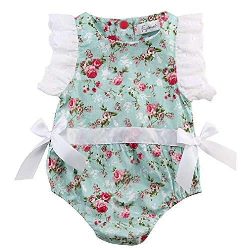 SAMGU Enfants Petit-Enfant Baby Girl Romper Jumpsuit Bodysuit