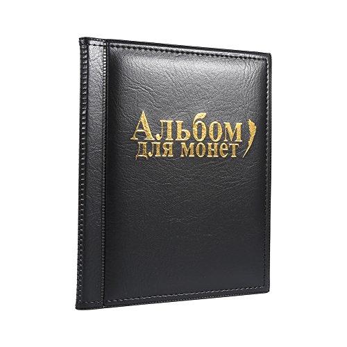 Álbum de Colección de Moneda 10 páginas 250 piezas