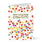 Hallmark Bulk Congratulations Cards for Graduation, Retirement, Customer and Employee Celebrations and other Professional Accomplishments (Colorful Confetti Congrats) (Pack of 25 Greeting Cards)