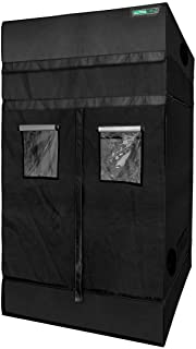 """ULTRA YIELD 48""""x48""""x84"""" + 12"""" Extension Grow Tent - 1680D Mylar Professional Indoor Growing Tents - Use for Hydroponics Growing System - 4x4"""