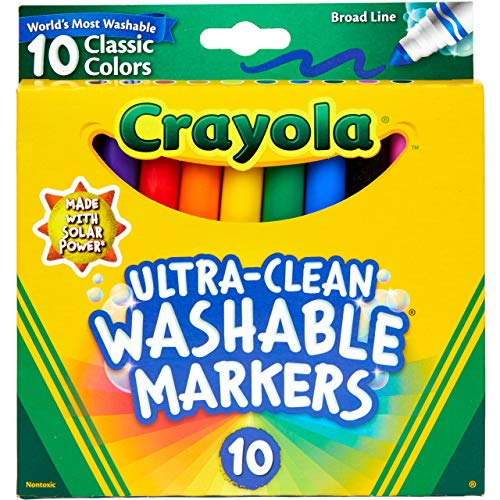 Crayola Ultra Clean Washable Marker…