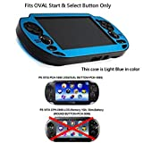 COSMOS  Light Blue Protection Hard Case Cover for Playstation PS VITA 1000, Fits for Oval Start & Select...