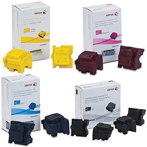 Xerox 108R00990, 108R00991, 108R00992, 108R00994 Ink Cartridge Set - ColorQube 8700