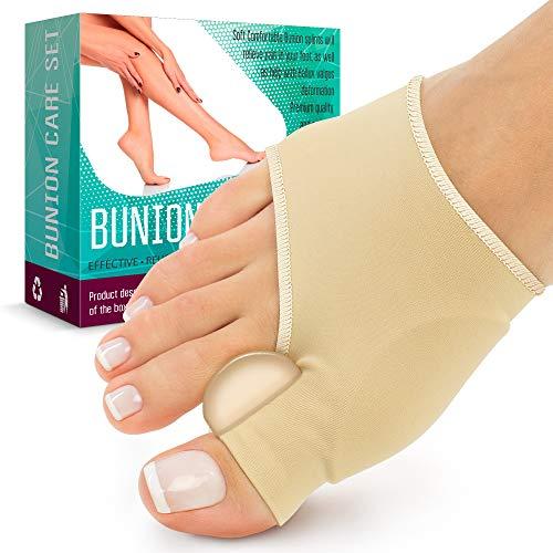 Bunion Splint Bunion Corrector - Bunion Socks for Hallux Valgus Bunion Pain Relief - Corrector Bunion for Sport - Big Toe Straightener