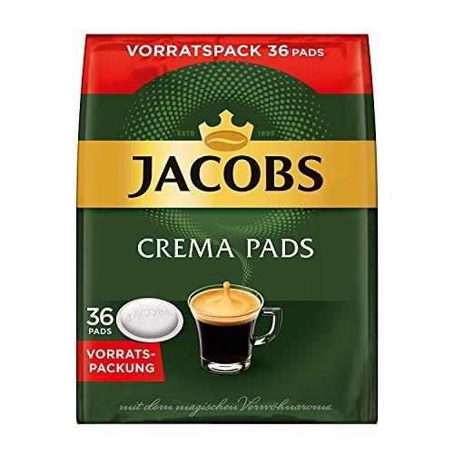 Jacobs Kaffeepads Crema Classic, 36 Senseo kompatible Pads im Vorteilspack für 36 Getränke