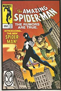 The Amazing Spider-man #252 October 2000 First Appearance of Black Costume (Reprint)