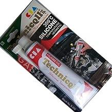 Technicqll Black High Temperature Silicone Adhesive Sealant 70Ml Heat Resistant 300'C