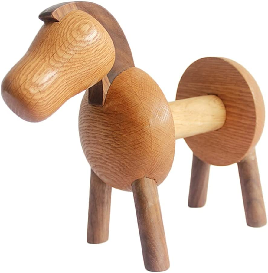 Counter Paper Towel Holder Max 48% OFF Pony New product! New type Wood Stand Holders F
