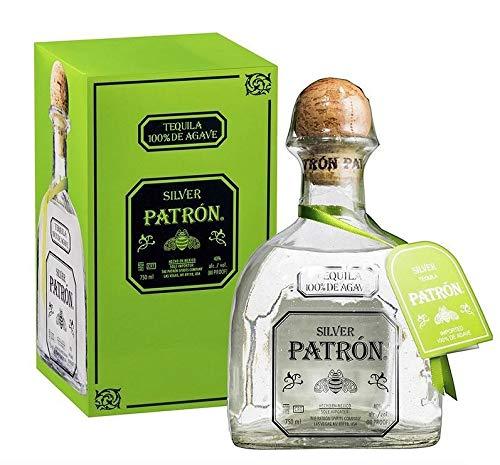 PATRON TEQUILA 100 DE AGAVE SILVER 70 CL IN ASTUCCIO