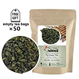 FullChea - Anxi Tieguanyin Tea - Best Oolong Tea Loose Leaf - Tie Guan Yin Tea -...