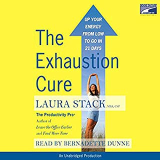 The Exhaustion Cure audiobook cover art