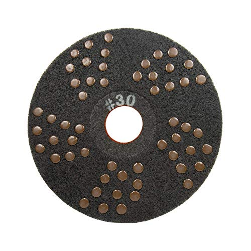 Concrete DNA Resin Satellite Pads | Double Sided Diamond Floor Polishing Pads | 20', 30 Grit