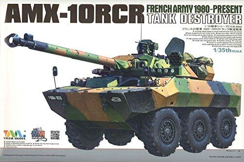 Tiger Model 1/35 French AMX-10RCR Tank destroyer by Tiger Model