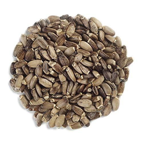 Frontier Co-op Milk Thistle Seed Whole, Certified Organic, Kosher, Non-irradiated   1 lb. Bulk Bag   Silybum marianum (L.) Gaertn.