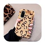 Femmes de la mode Fluffy Lapin Silicone Cover Pour Huawei P40 P20 lite Mate 20 10 Pro Y9 Y6 Y5 2019...