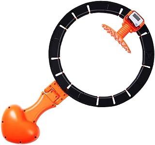 Smart Hula Hoop Fitness Hula Hoop Smart Count Anillo reductor autom/ático de p/érdida de peso extra/íble y ajustable