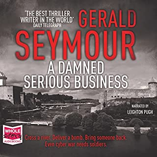 A Damned Serious Business cover art