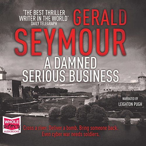 A Damned Serious Business audiobook cover art