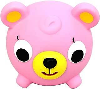 Oshaberi Doubutsu Farm Animal Relaxable Squeeze Stress Ball - Pink Bear