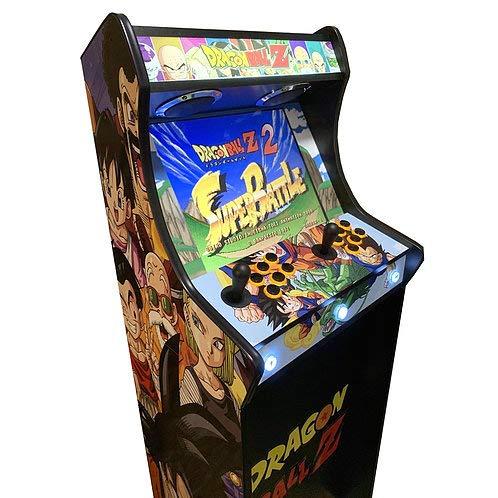 Máquina Arcade Lowboy Retro, máquina recreativa -Tamaño Real- Dragon Ball