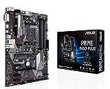 Asus PRIME B450-PLUS - Placa base AMD AM4 ATX con conector Aura Sync RGB, DDR4 3200 MHz, M.2, HDMI 2.0b, SATA 6 Gbps y USB 3.1 Gen. 2, soporta Ryzen 3000