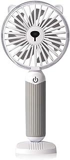 2019新版扇風機 携帯扇風機 発光モード 小型 USB扇風機 三段階風量調節 大容量 3000mAh 手持ち/卓上両対応