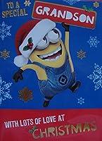 Despicable Me Minion Grandsonクリスマスカード