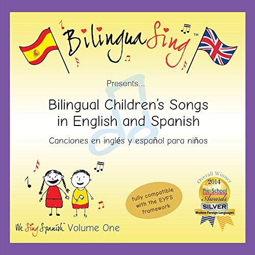Canciones infantiles para bebés y niños en inglés | CD para aprender el inglés [Audio CD] BilinguaSing PREMIADO CD DE IDIOMAS                                                                                                                                                                                                                                                                Importación