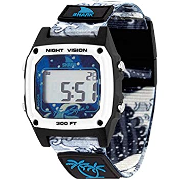 Freestyle Luke Davis Signature Shark Classic Clip White Wave Unisex Watch FS101056