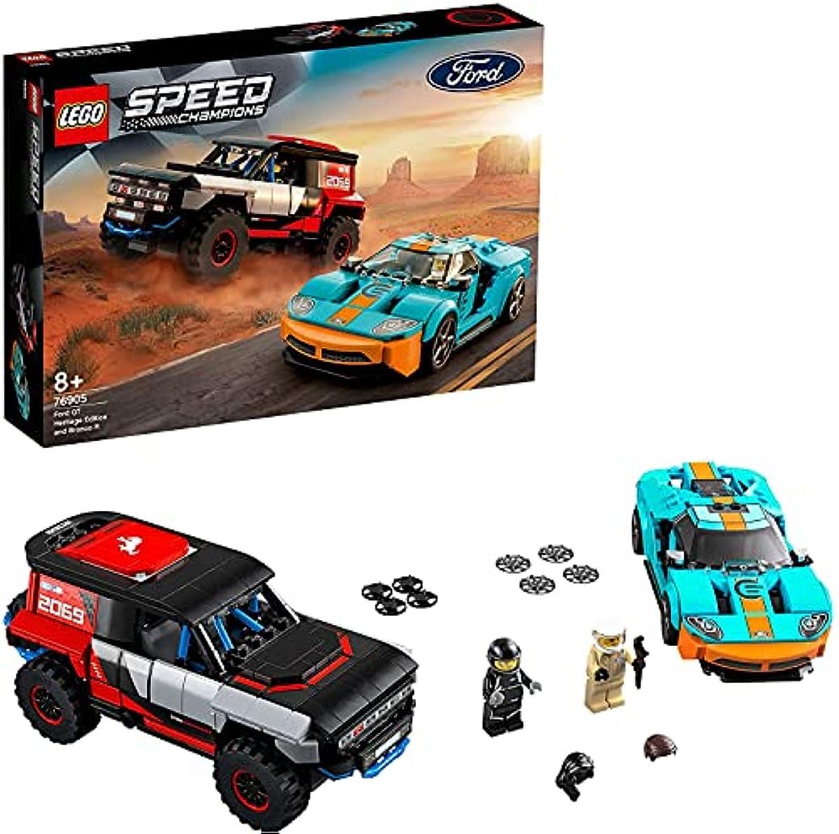 [해외] 레고(LEGO) 스피드 챔피언 포드 GT 헤리티지 에디션 & 브롱코 R 76905