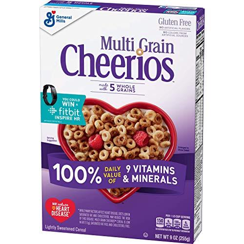 Multi Grain Cheerios, Multigrain Cereal, Gluten Free, 9 oz