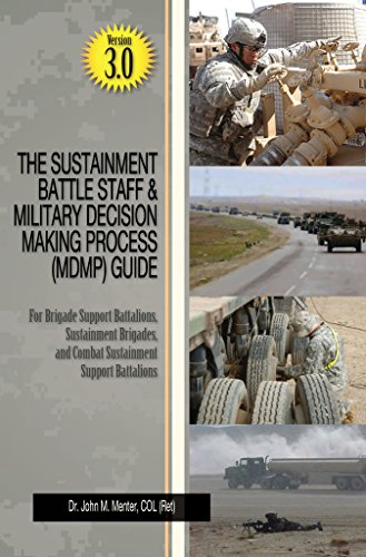 The Sustainment Battle Staff & Military Decision Making Process (MDMP) Guide Version 3.0