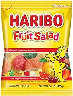 Best Haribo Gummi Candy, Fruit Salad, 5 oz. Bag (Pack of 12) Review