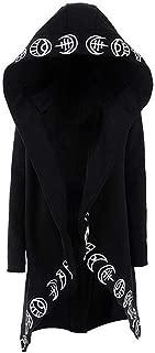 gothic black hoodie