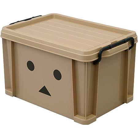 【Amazon.co.jp限定】JEJアステージ コンテナボックス ダンボー 日本製 収納ボックス おもちゃ収納 積み重ね #25 [幅29.5×奥行44.3×高さ26cm]