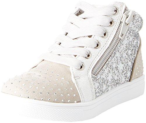 BATA 229107, Sneaker a Collo Alto Bambina, Grigio, 28 EU