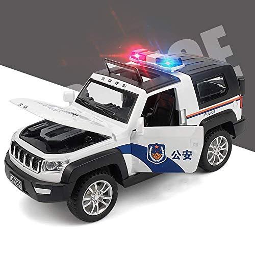 Pocket Mini coche modelo de simulación de SUV puede abrir la claraboya de aleación de zinc Tire hacia atrás de coches de juguete 1/32...