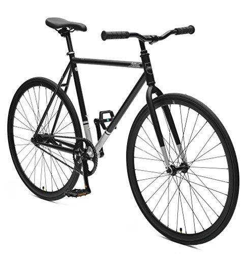 Critical Cycles 2312 Harper Coaster Vélo à Vitesse Unique Style Fixie avec Frein à Pied - Noir...