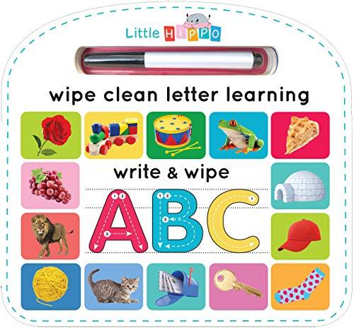 Write & Wipe ABC - Children s Novelty Learning Board Book - Wipe Clean - Alphabet - Educational