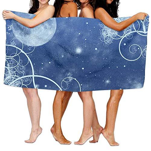 ETGBFHRDH - Toallas de baño para Mujer con diseño de Luna de Hielo y Nieve en Cuentos de...