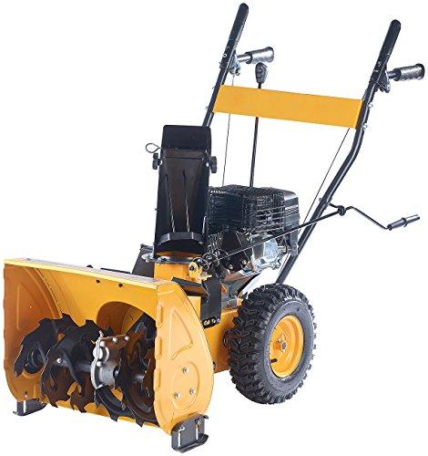 AGT Benzin Schneefräse: Motorbetriebene Schneefräse SB-848.b, 4,8 kW, selbstfahrend (Motor Schneefräse)