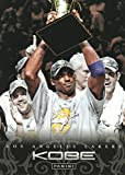 Kobe Bryant 2012 2013 Panini Anthology Basketball Series Mint Card #166 Picturing This Los Angeles Lakers Star Holding the Championship Trophy