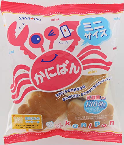 三立製菓 ミニかにぱん 90g×12個
