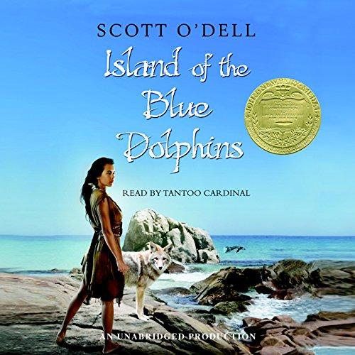 Island of the Blue Dolphins audiobook cover art