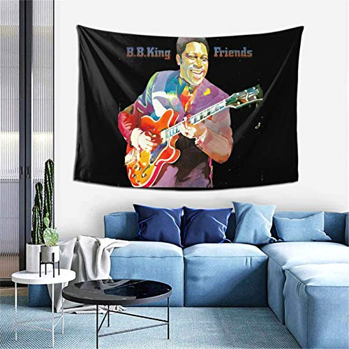 Bb King - Tapiz para colgar en la pared, decoración del hogar, para sala de estar, dormitorio, 150 x 100 cm