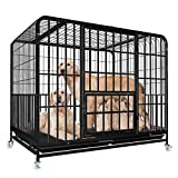 SOAR Jaulas Para Perros Pequeñas, medianas y grandes jaulas for perros, japoneses Bull Terriers, Cathrow Terrier, Rottweiler, Foxhounds, collie, Golden Retriever, Husky, super grandes jaulas for perro