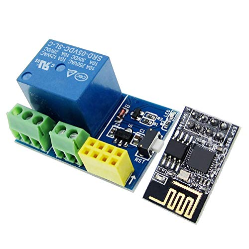 Greatangle Esp8266 Esp-01S + 5V Wifi Relay Module Smart Home Remote Control Unlock Set Smart Socket Smart Home Relay Module multicolor